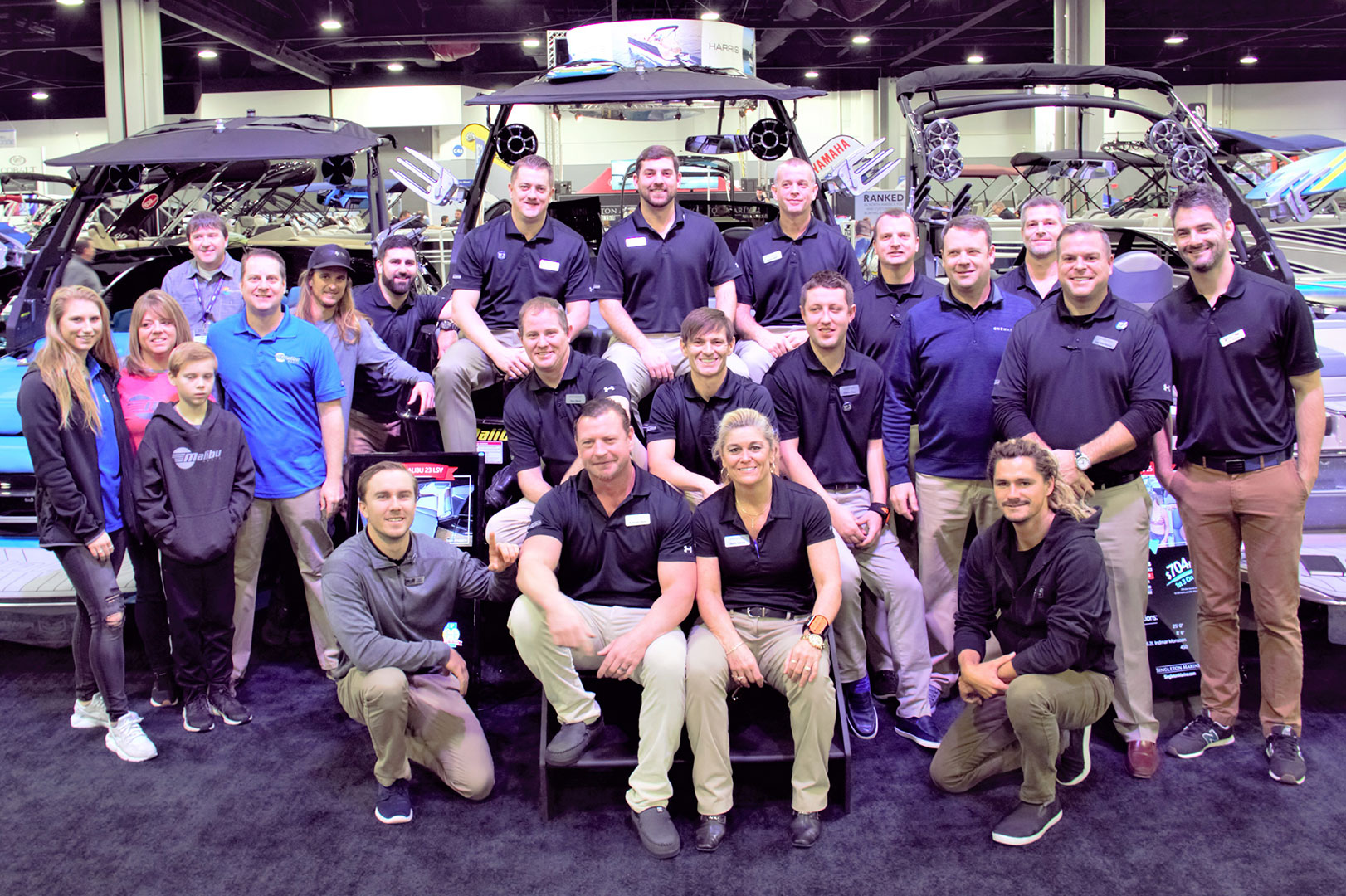 SMG Sweeps Booth Honors at Atlanta Boat Show