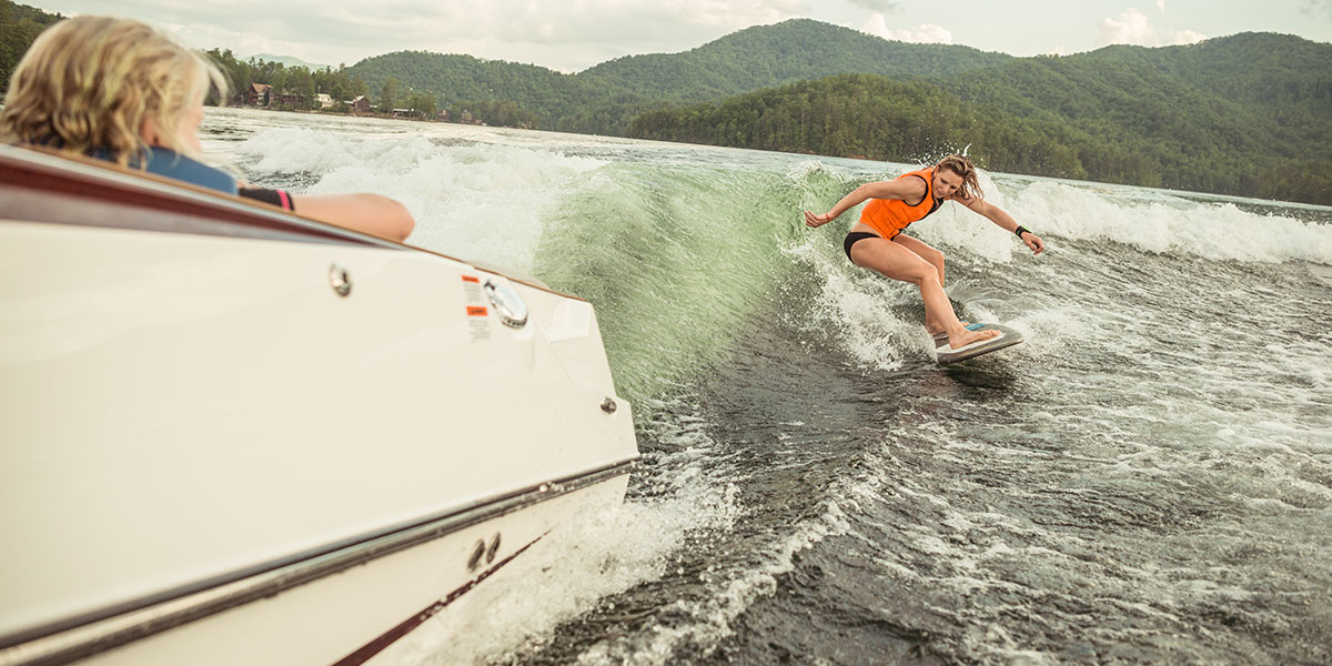 How to Set Up Your Malibu boat for Wakesurfing with Stacia Bank