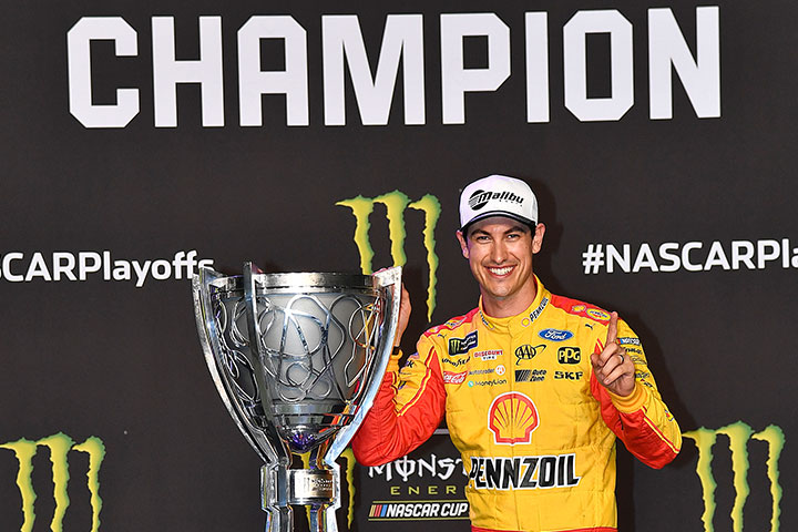 Malibu Boats Joey Logano Drives His First Championship