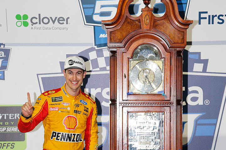 New Clock for NASCAR Driver and Malibu Boats Ambassador Joey Logano