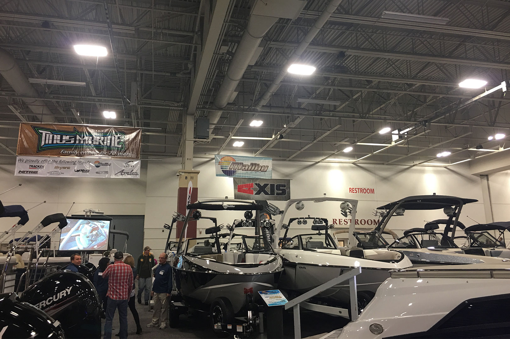 Tinus Marine Heating Up Milwaukee Boat Show