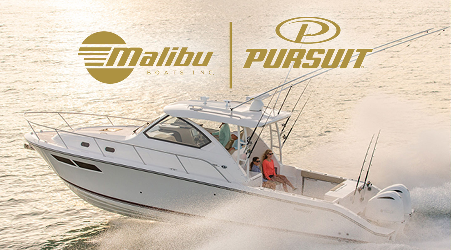Malibu Boats completed its acquisition of Pursuit Boats