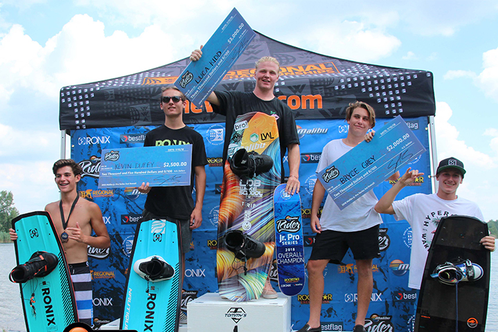 Malibu's Luca Kidd Wins the Jr. Pro Overall Series