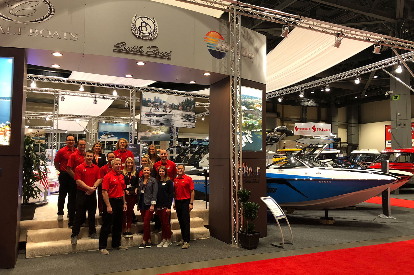 Seattle Boat Company Wins Best Boat Display at Seattle Boat Show