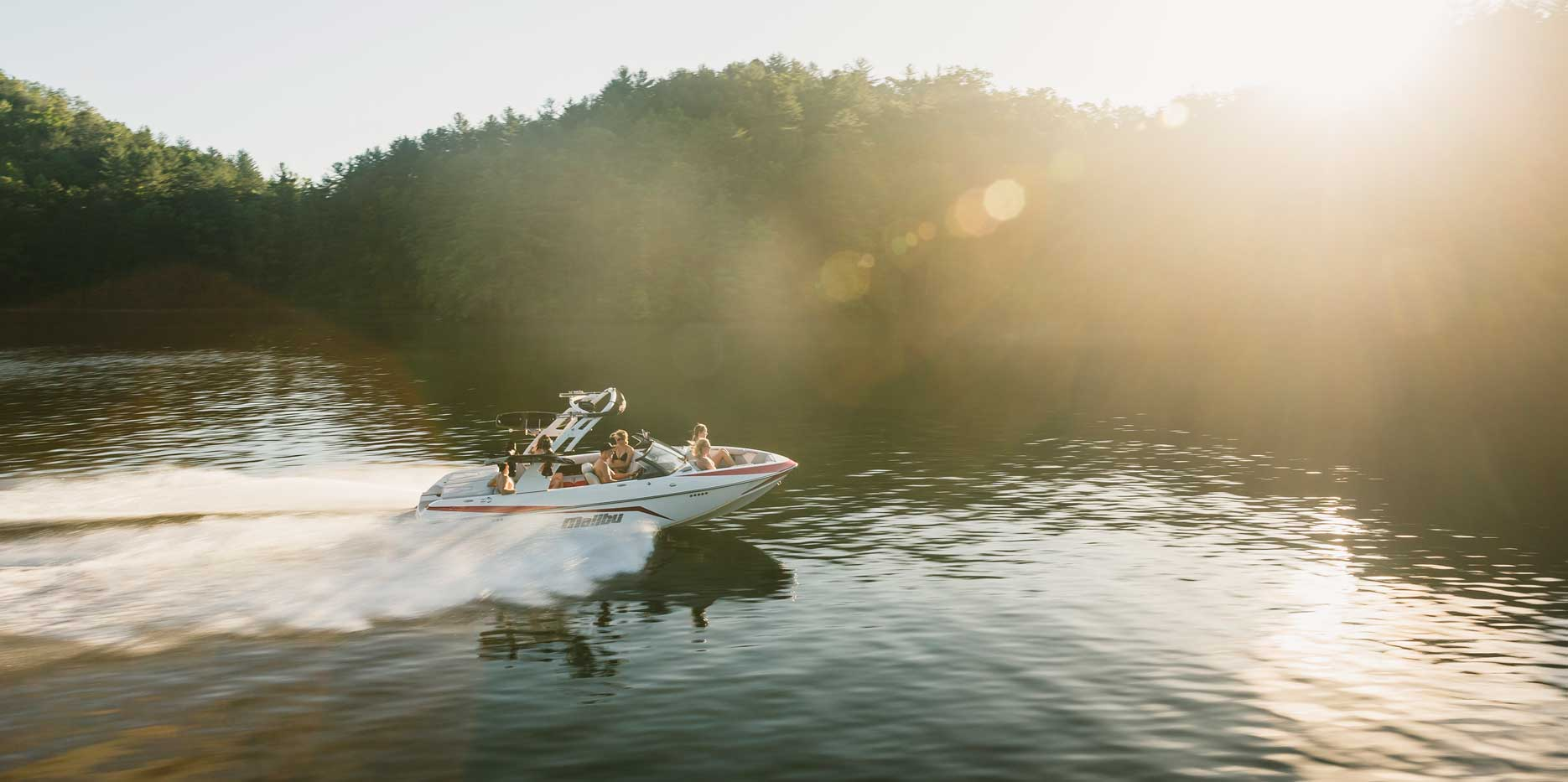 The Malibu 21 VLX skis, surfs, and wakeboards