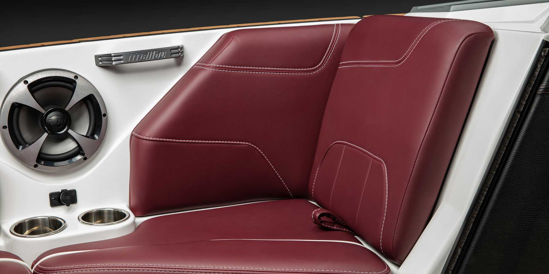 Plush seating for ultimate comfort.