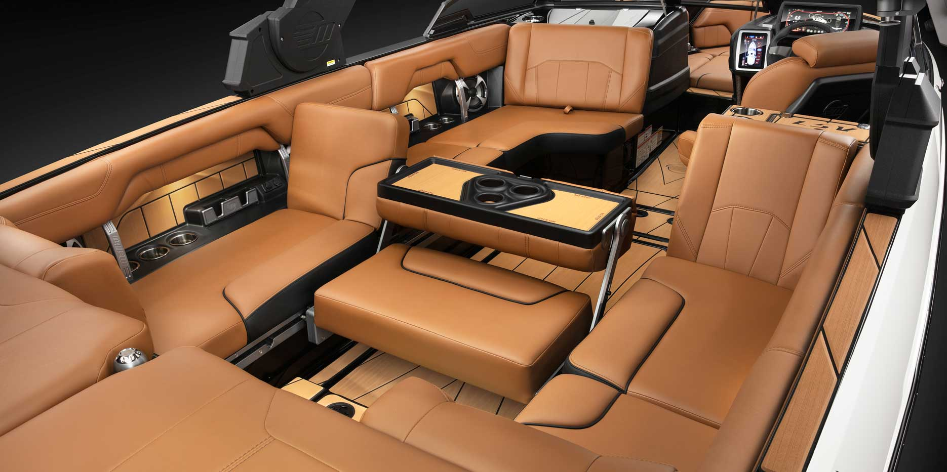 Wakeview Seats and the Multi-View Bench Seat in the 25 LSV