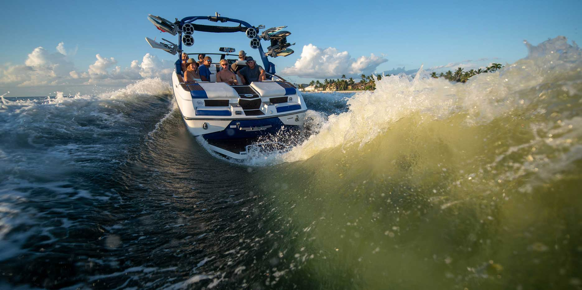 The M240 provides the best wakesurf performance