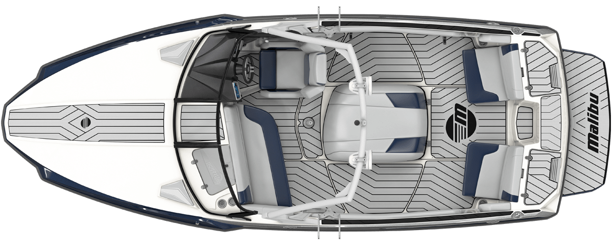 2020 Malibu Response TXi Top View