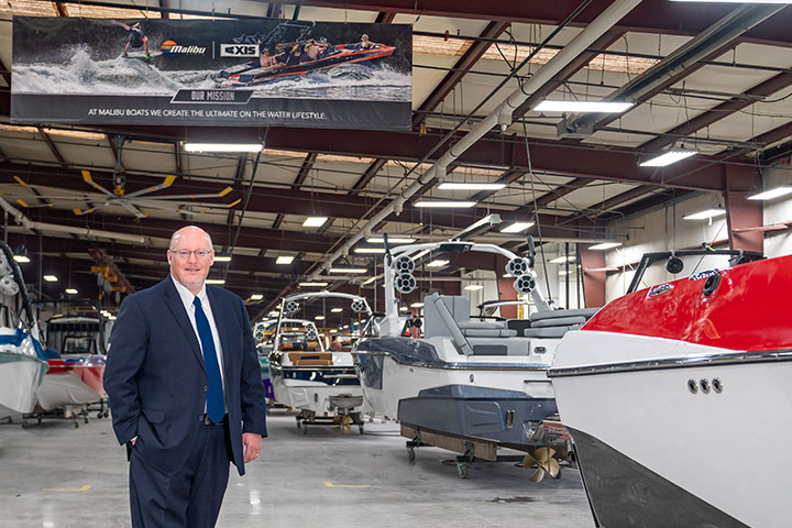 Jack Springer Joins the TN Chamber of Commerce, Malibu Boats