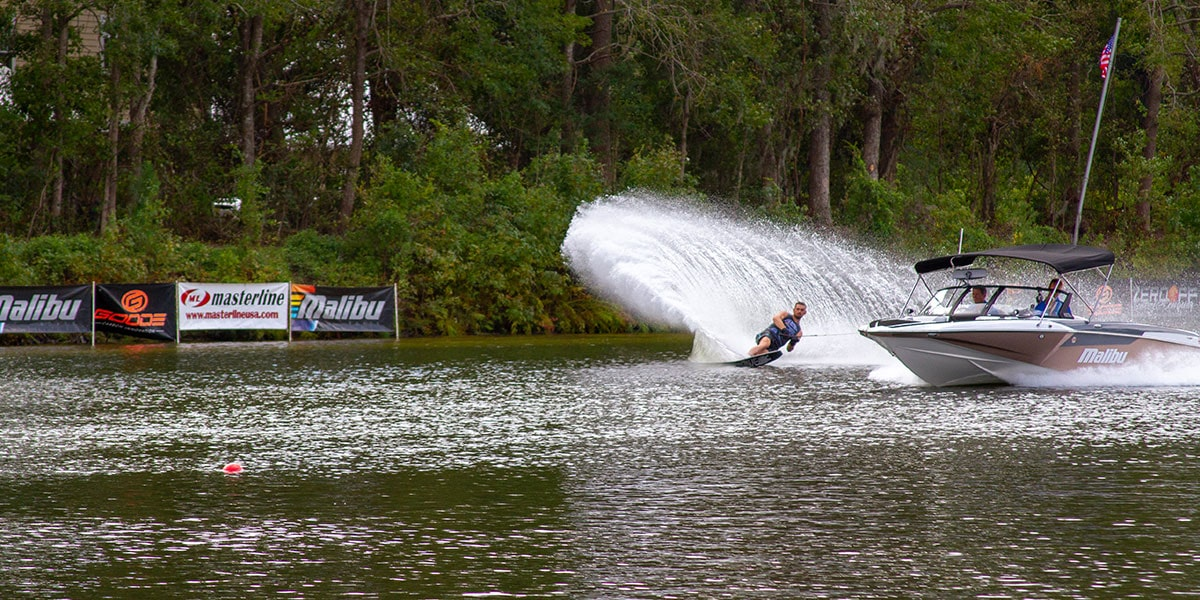 Malibu Open Waterski Competition Pulled by Response TXi