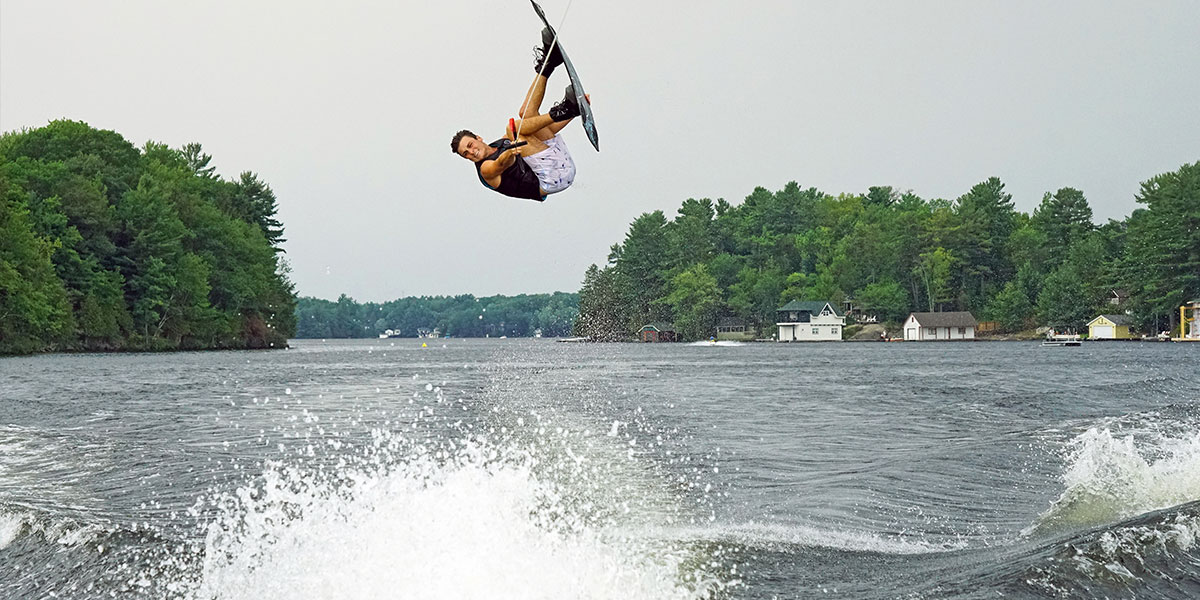 Malibu Boats Rider Experience Canada Saw Top Wakeboard & Wakesurf Riders, wakeboard action