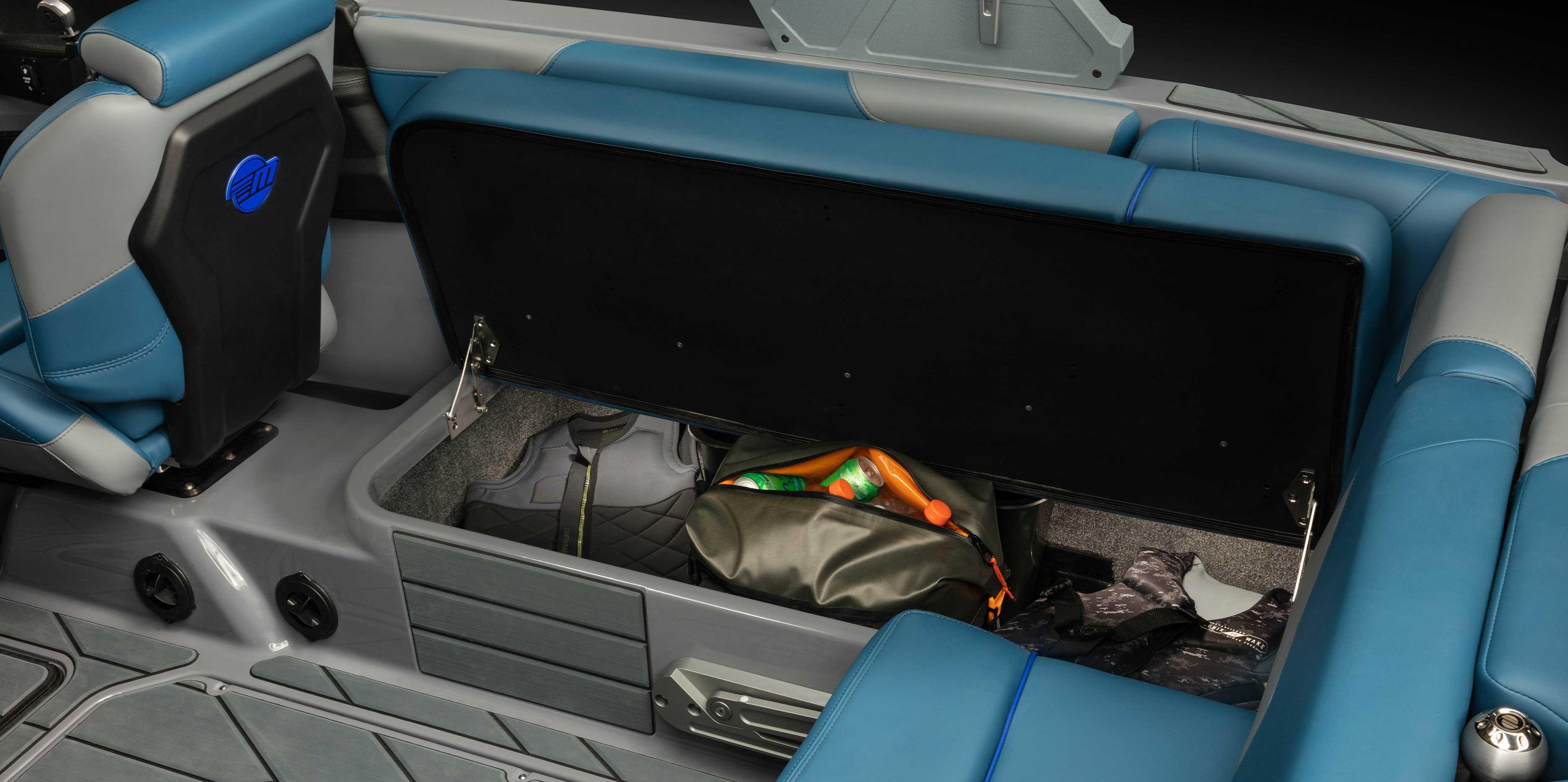 Malibu 22 LSV Storage