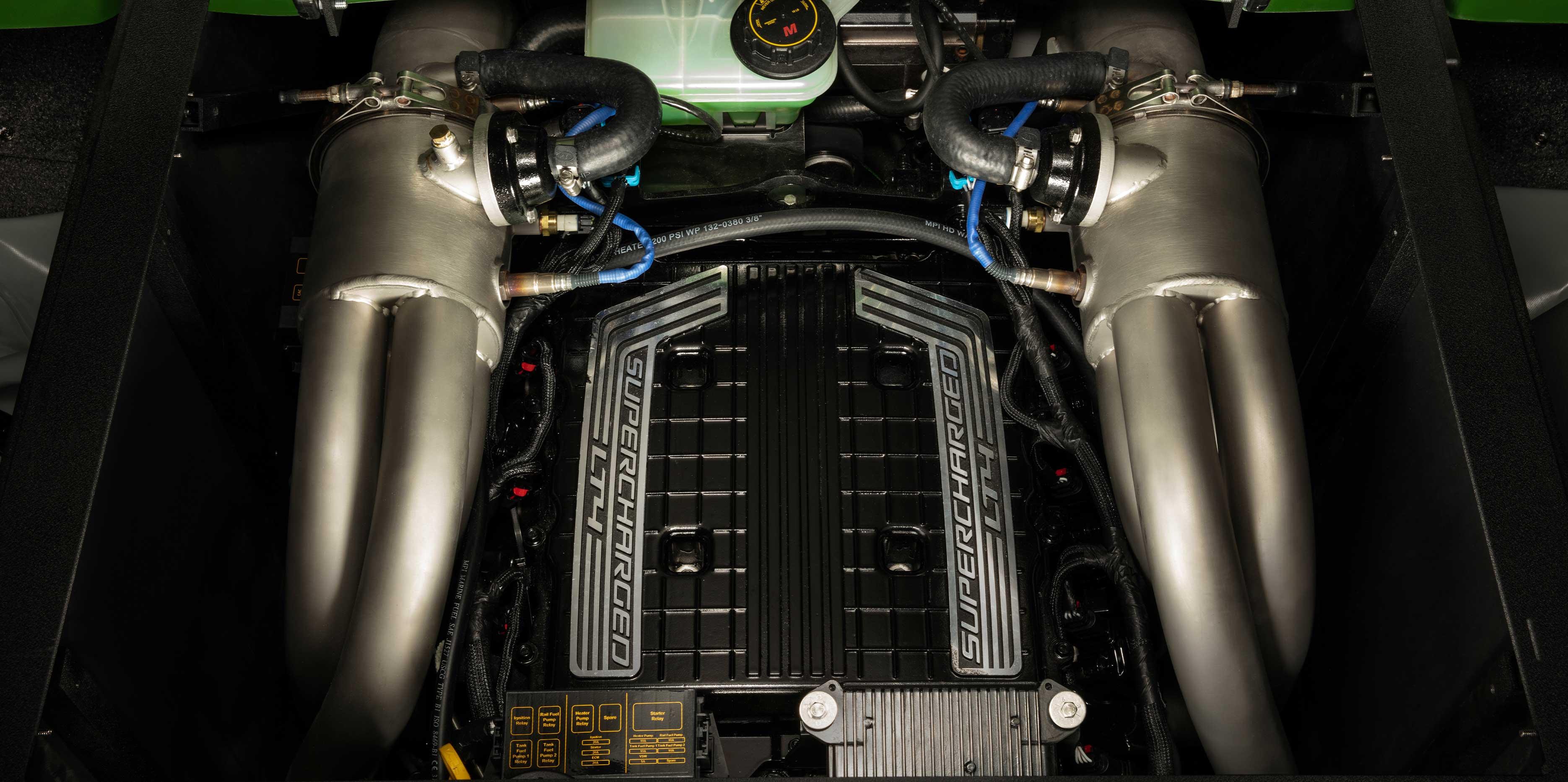 Malibu Monsoon LT4 Supercharged Engine