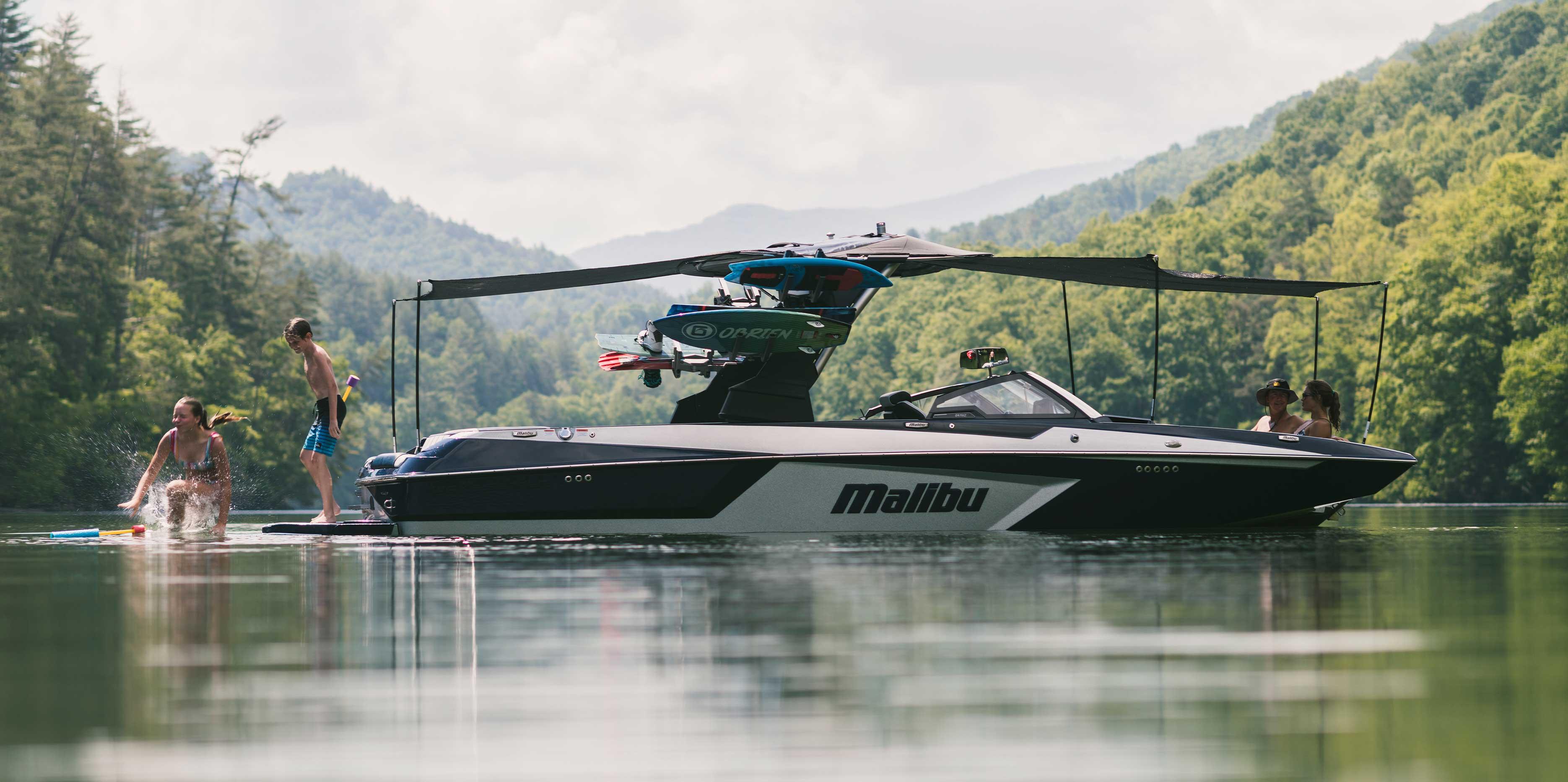 Malibu 24 MXZ Extended Awning