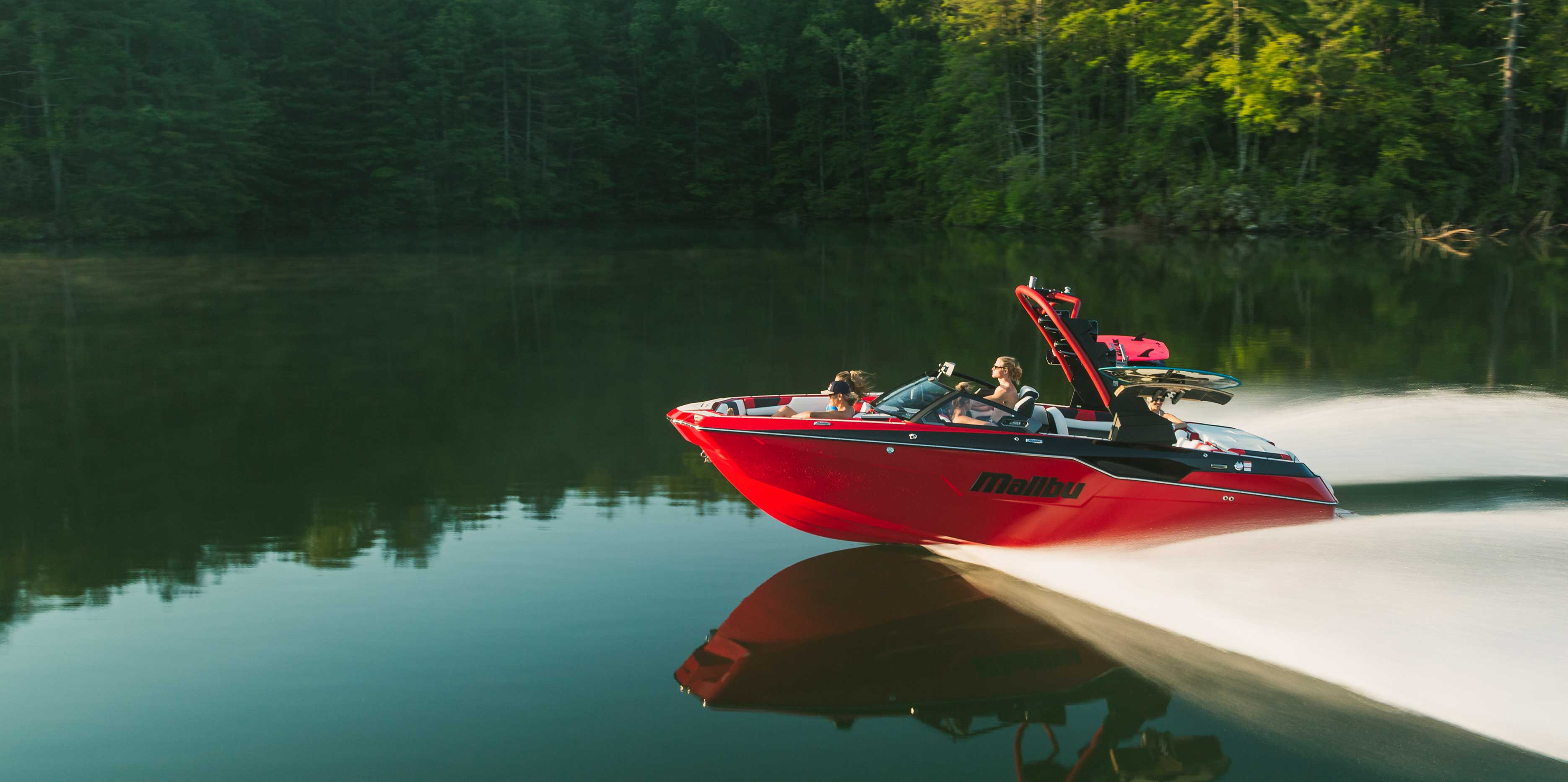 The 2021 Malibu Boats All-New M220 Running