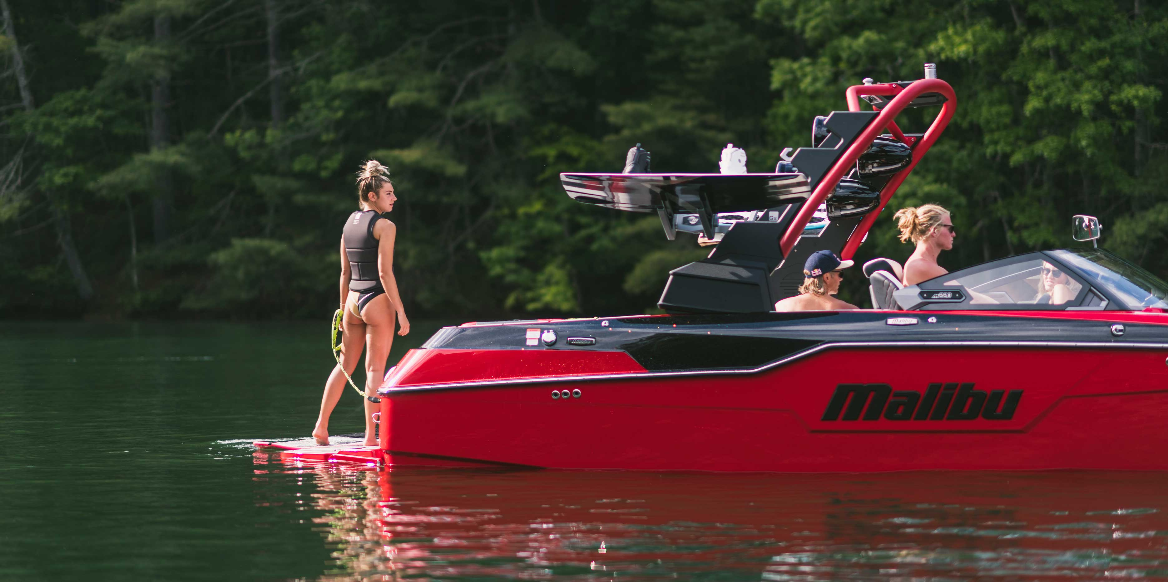 The 2021 Malibu Boats All-New M220 Floating