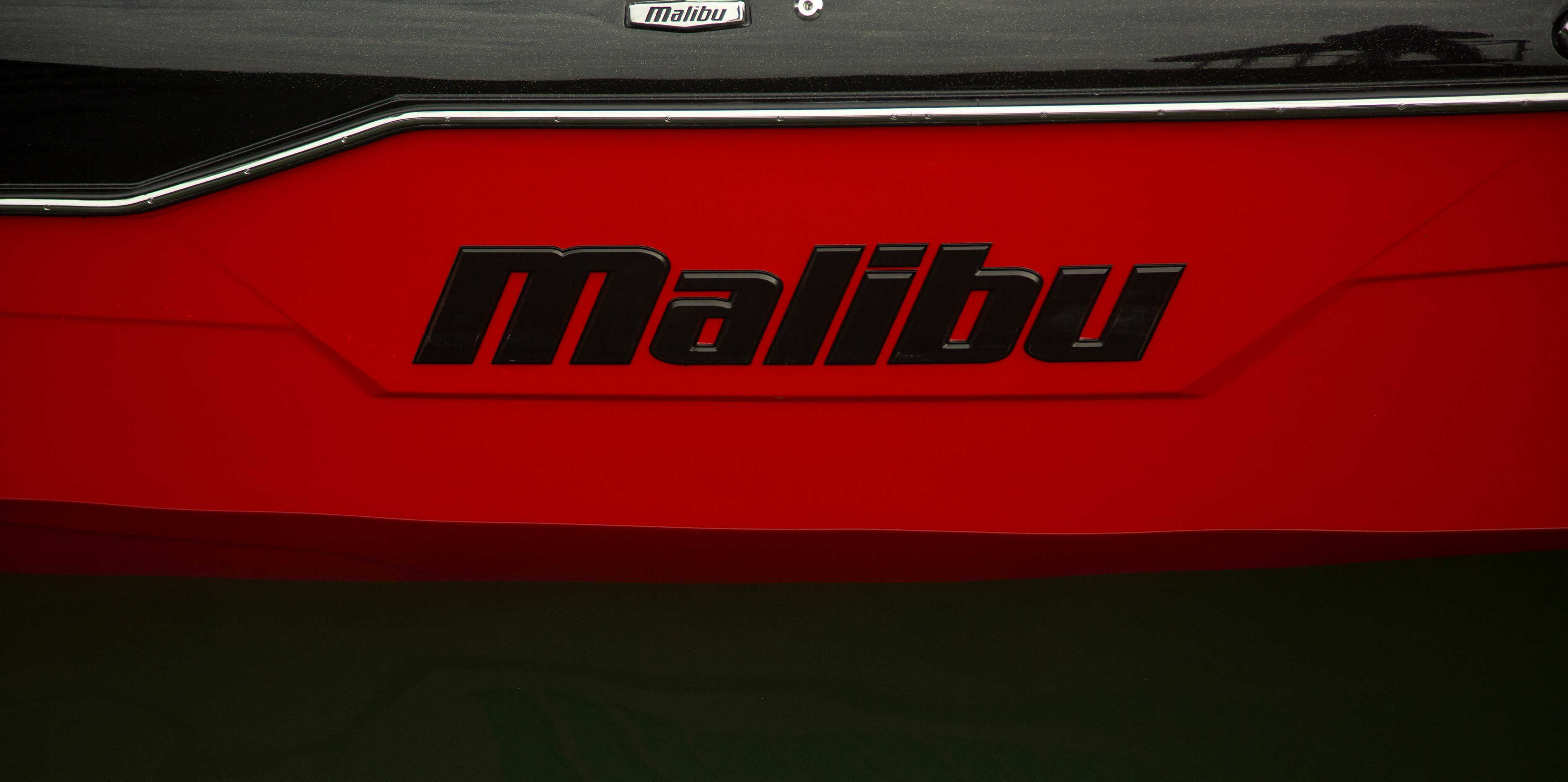 The 2021 Malibu Boats All-New M220 Logo
