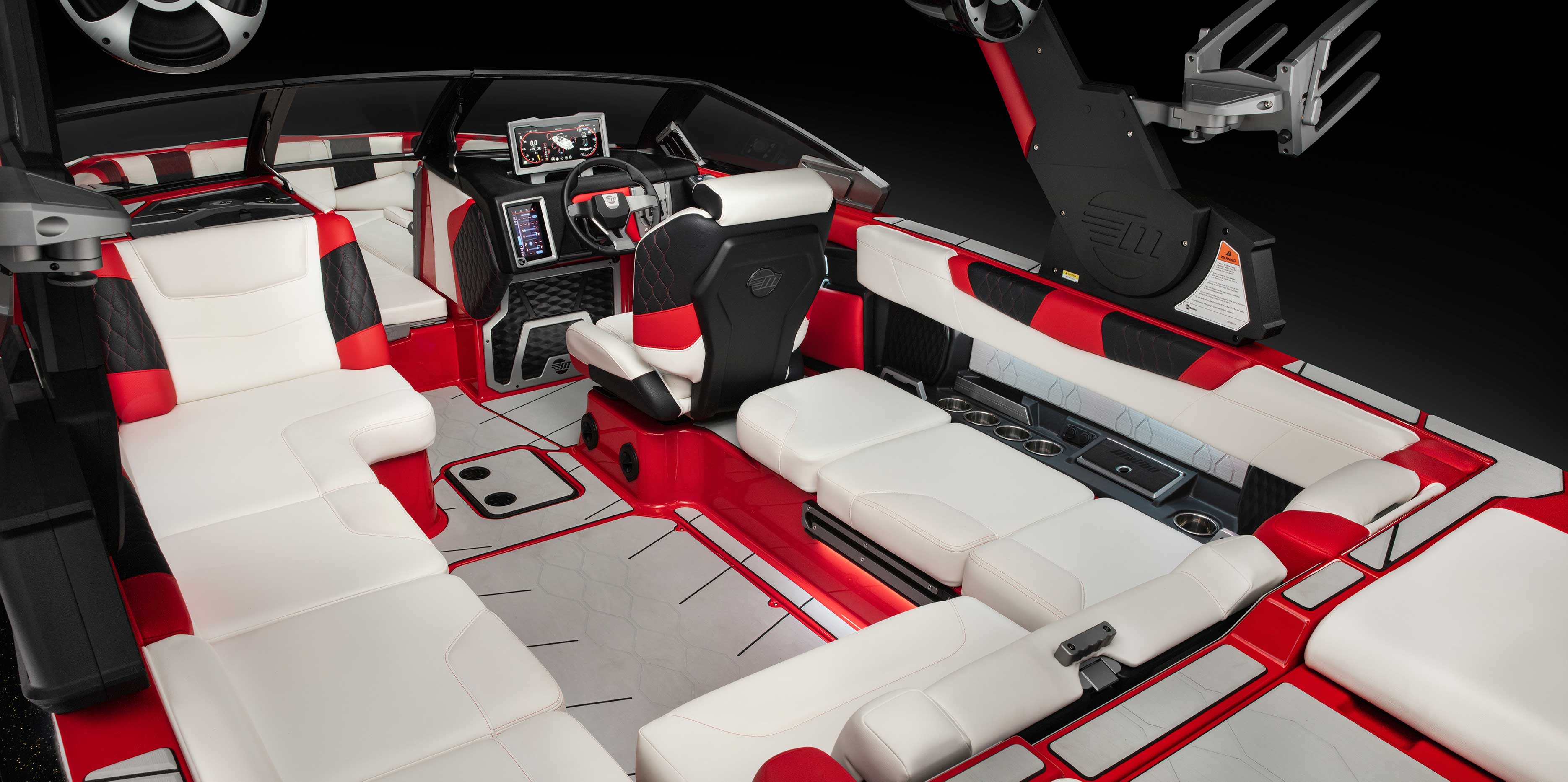 The 2021 Malibu Boats All-New M220 Interior Layout