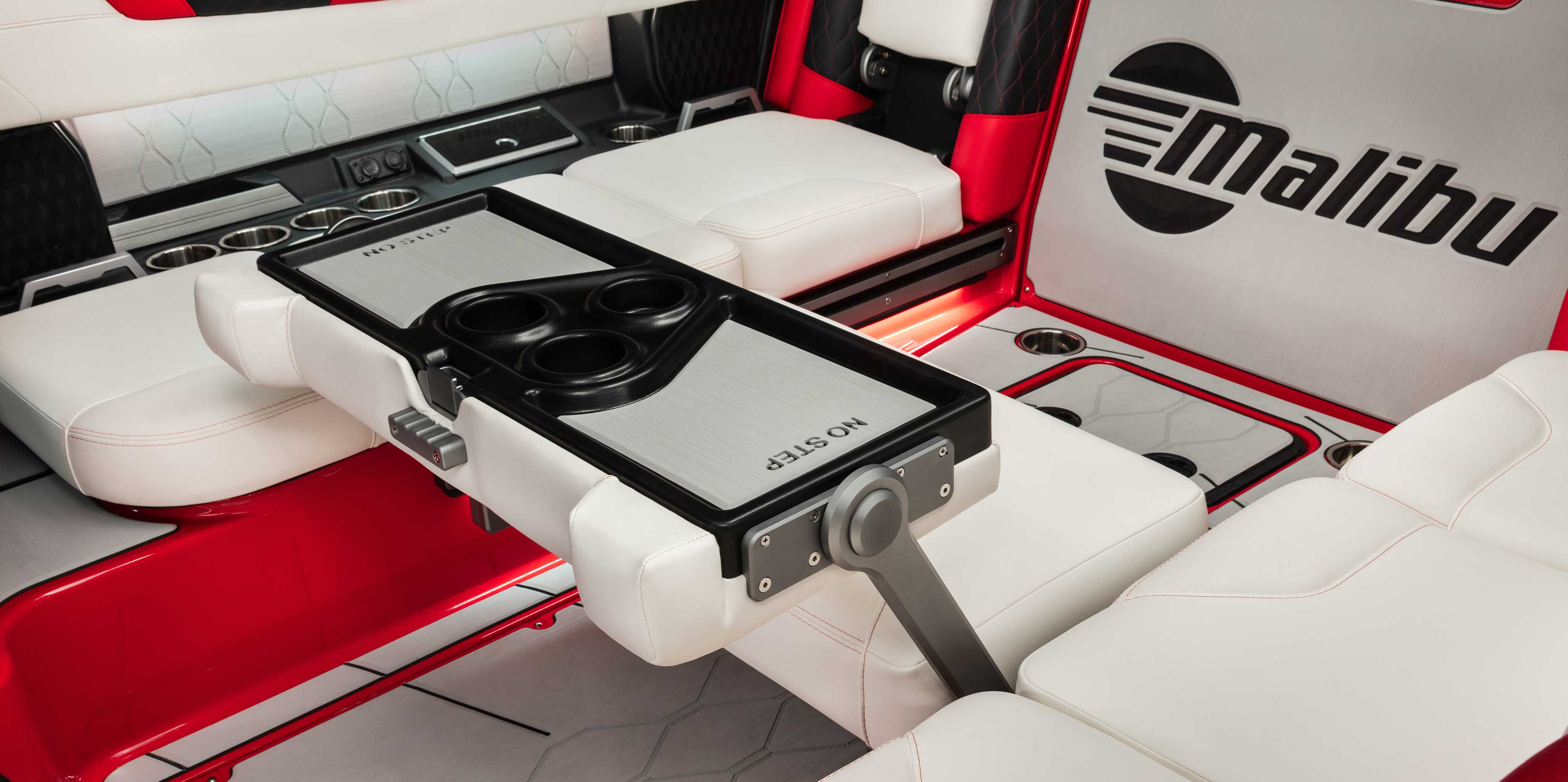 The 2021 Malibu Boats All-New M220 Multi-View Bench Seat