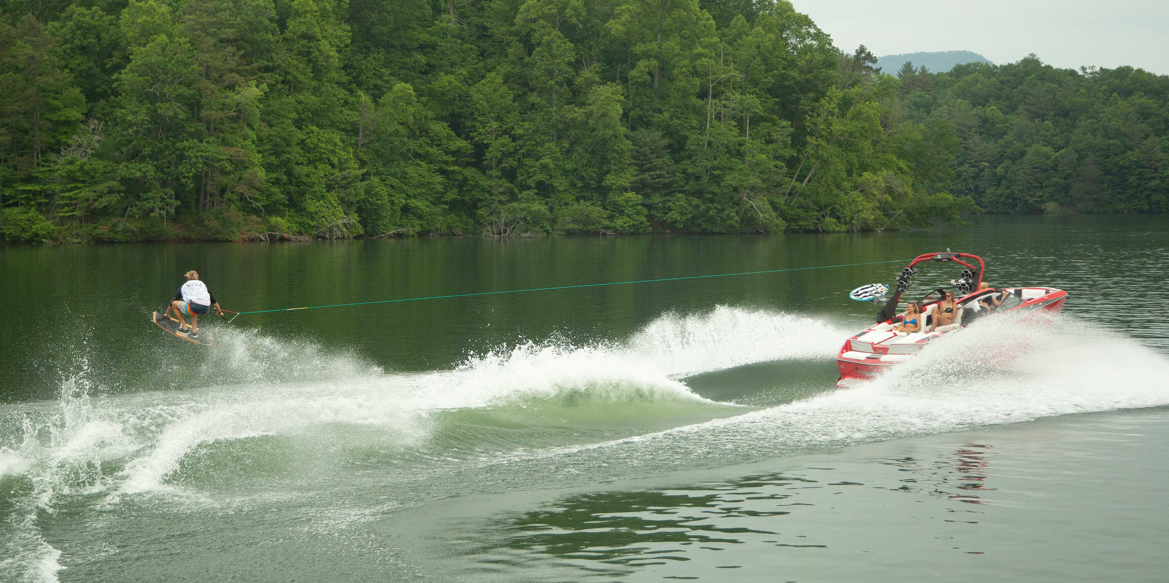 The 2021 Malibu Boats All-New M220 Wakeskating