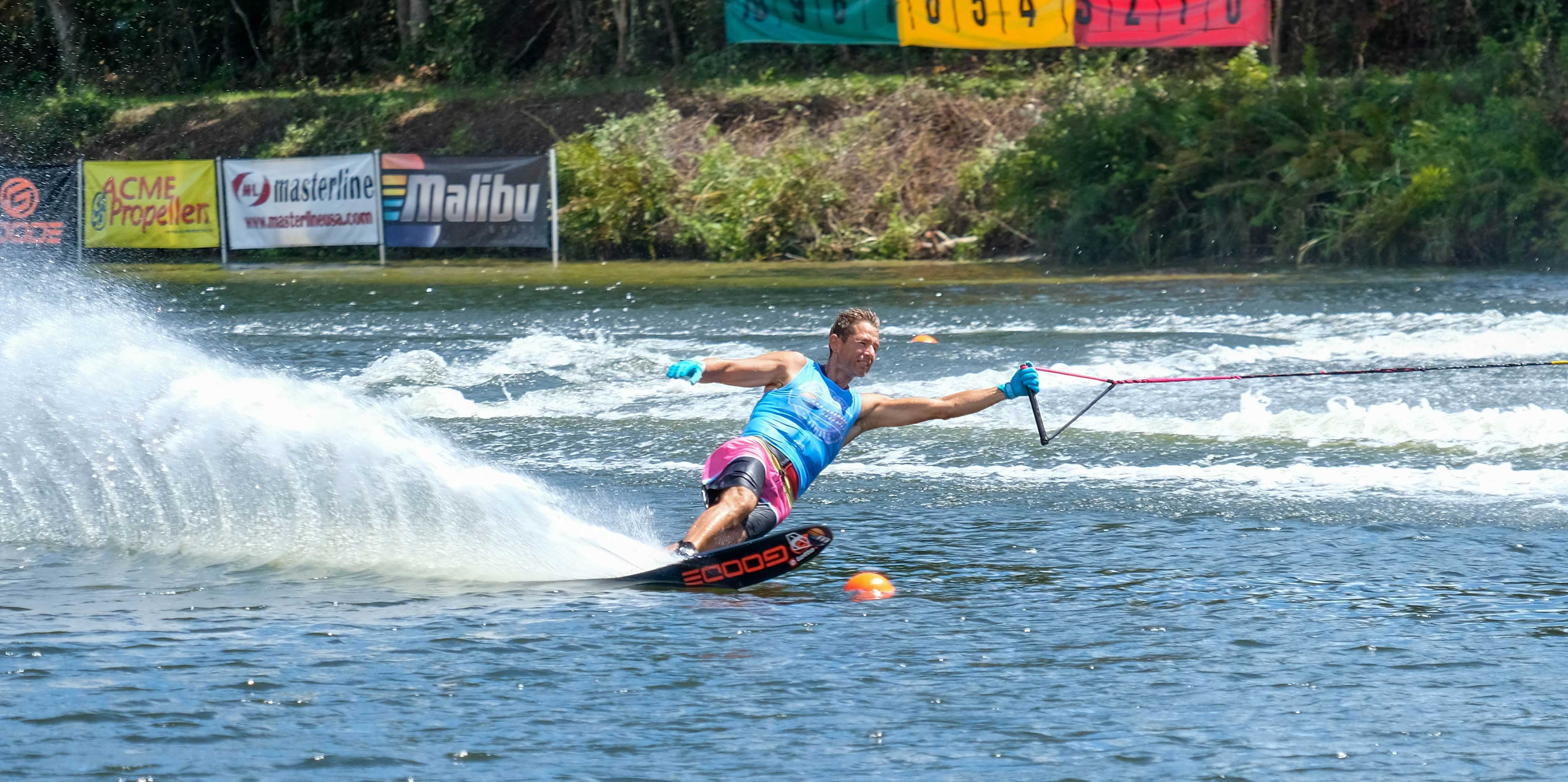 Waterski Competition Malibu Open with Response TXi