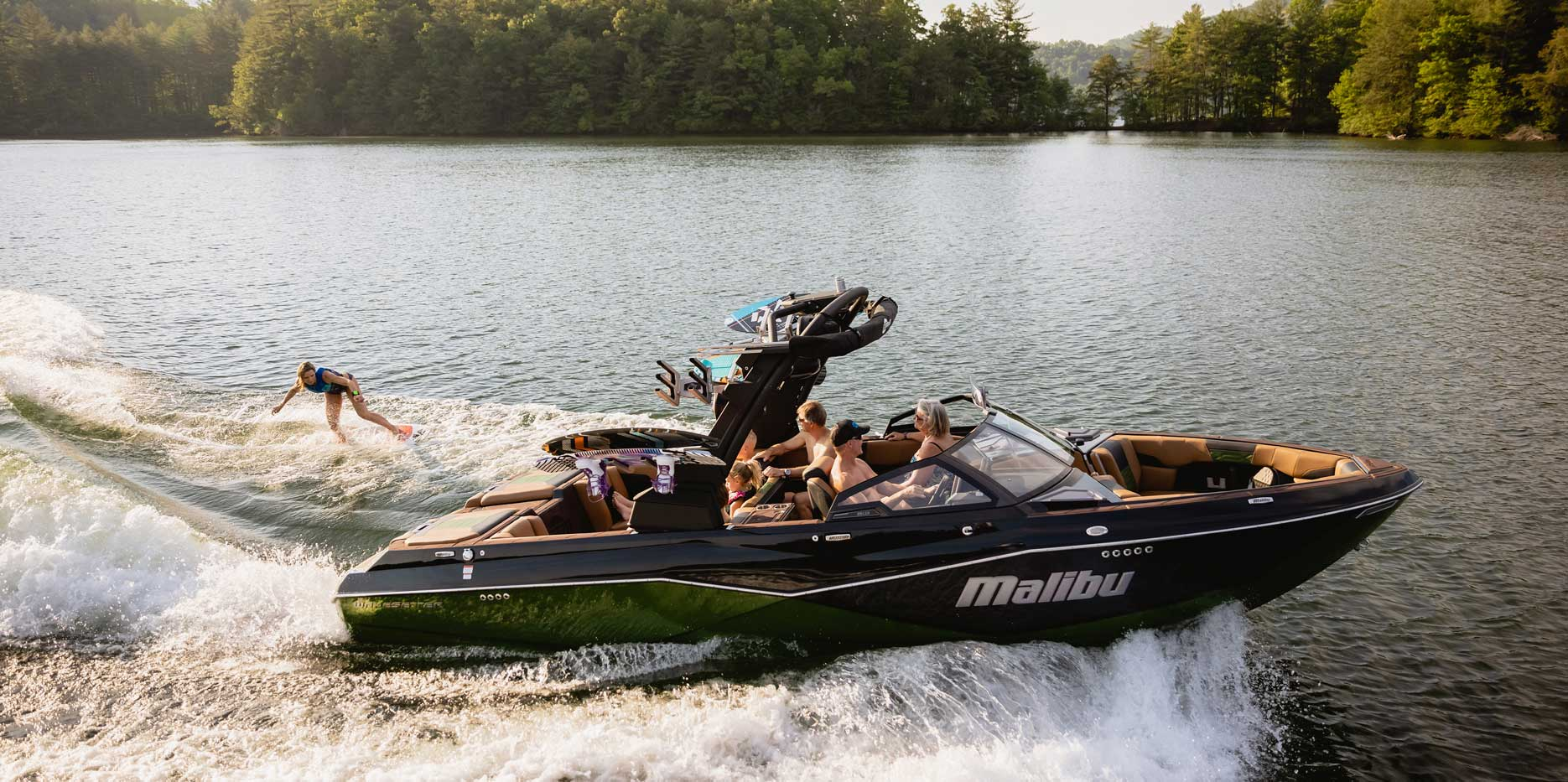 25 LSV on the water