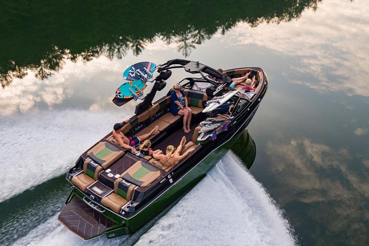 The 2022 All-New Malibu 25 LSV | Wakesurf & Wakeboard Boat