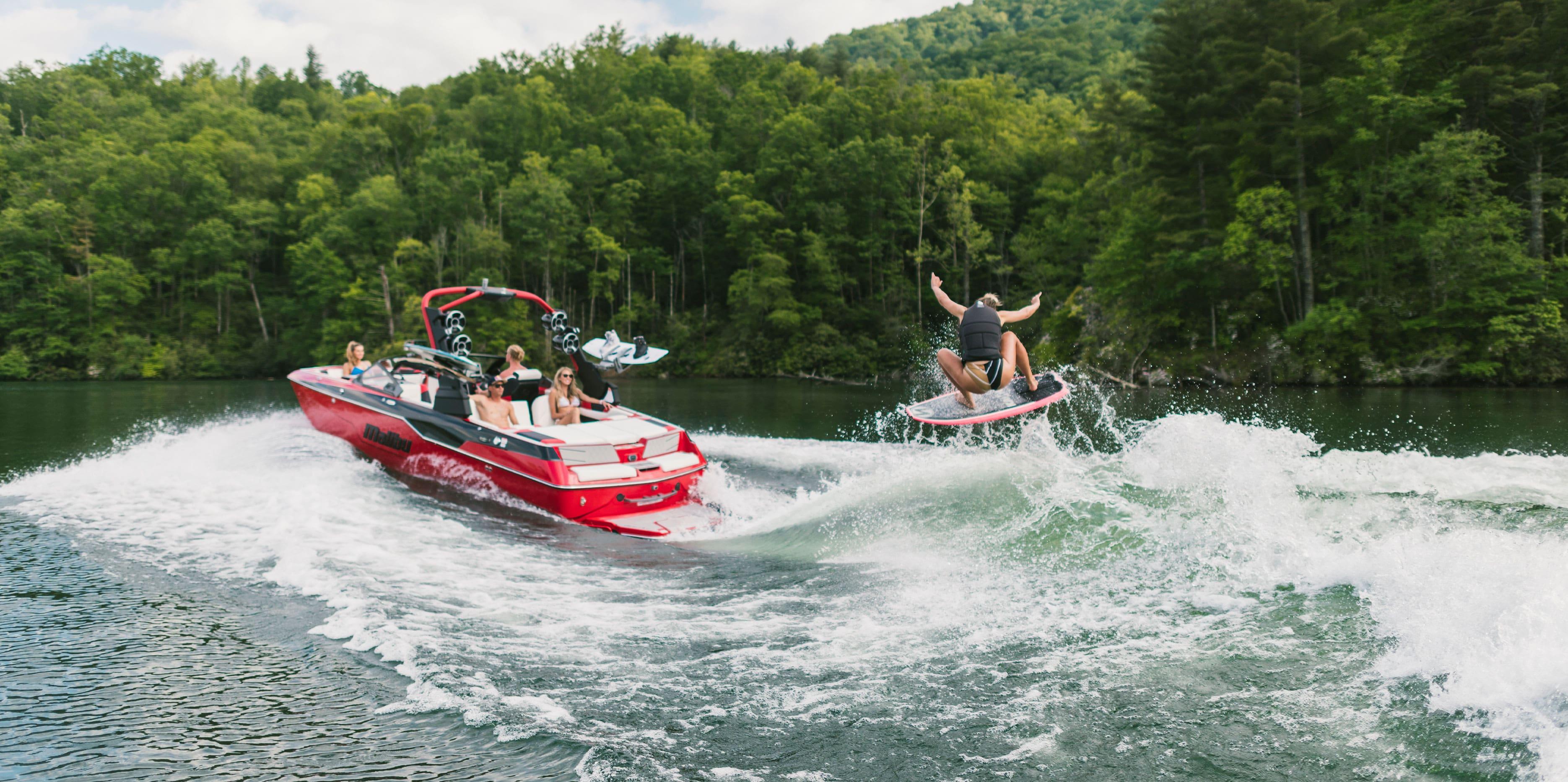 Cassidy Gale Malibu Boats Professional Wakesurfer