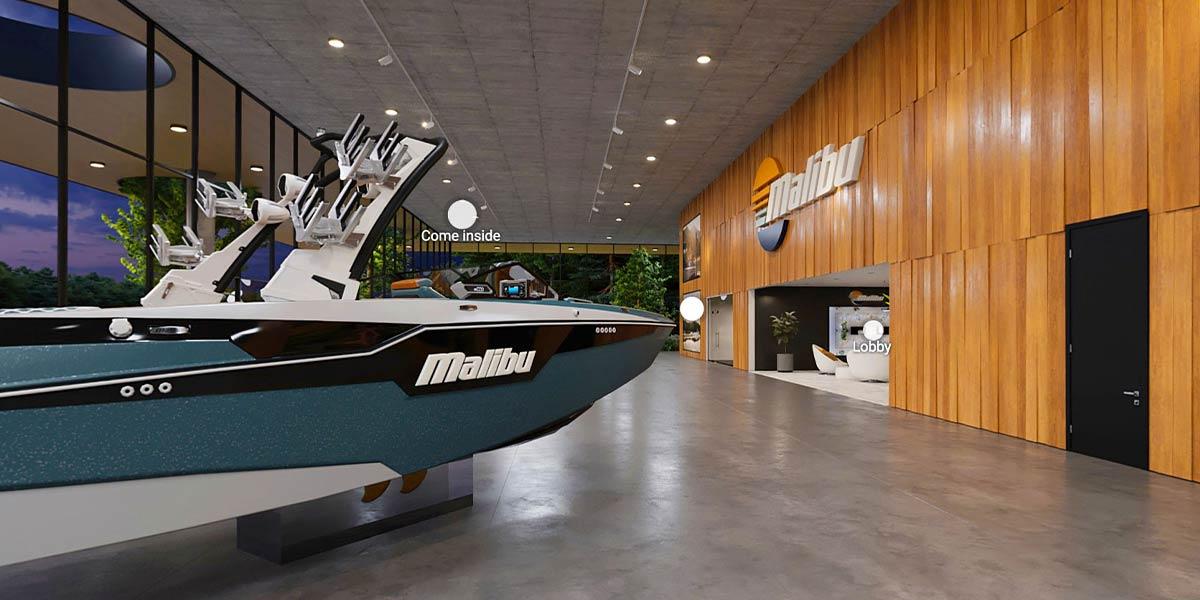 Malibu's 2022 Boat Virtual Showroom