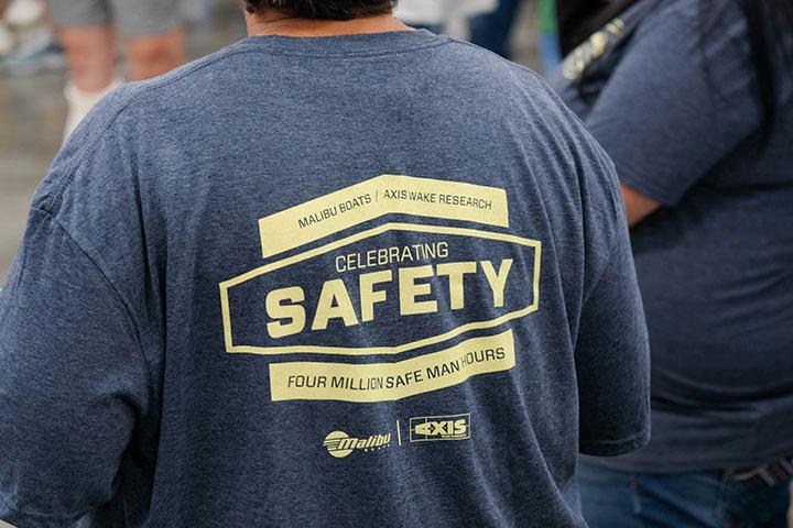 Malibu Boats Celebrates 4 Million Safe Man Hours