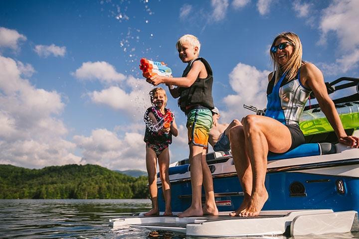 Boating with Kids, Malibu Boats