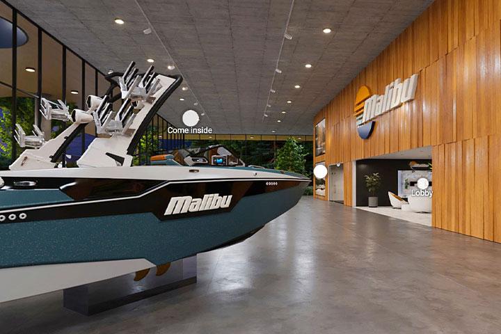 Malibu Boats Virtual Showroom