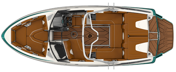 2019 Malibu 21 VLX Overhead