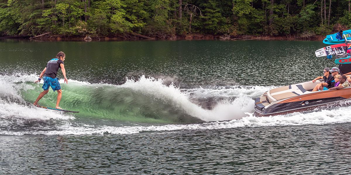 Brian Grubb Wake Surfing